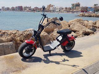 Scooter eléctrica 1200 w 60 v 12ah