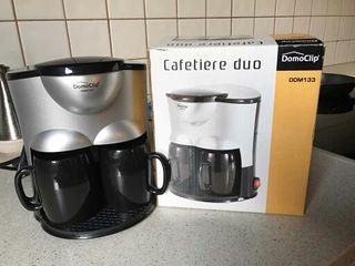 Cafetera dúo eléctrica