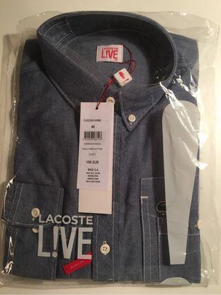 Camisa Lacoste Live nueva