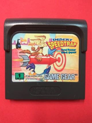 Desert Speedtrap Sega Game Gear