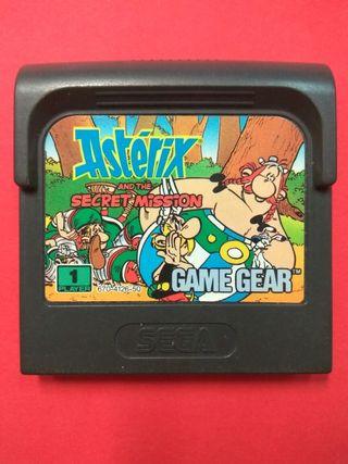 Asterix And The Secret Mission Sega Game Gear
