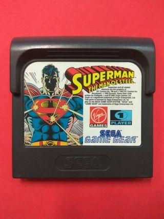 Superman The Man of Steel Sega Game Gear