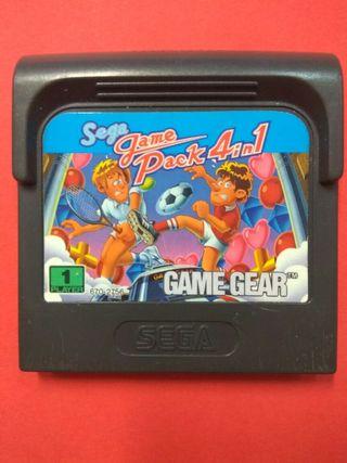 Sega Game Pack 4 in 1 Game Gear
