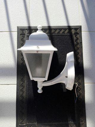 farol exterior de aluminio