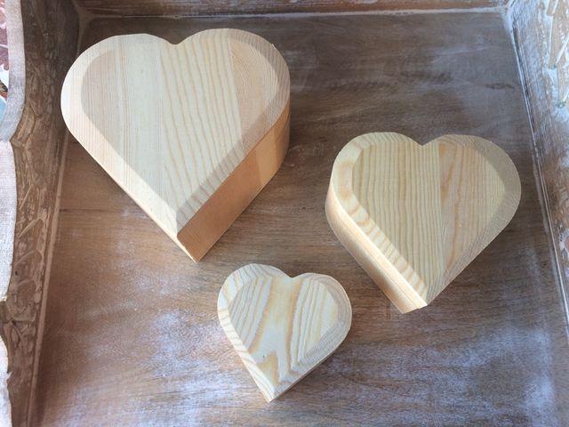 Set 3 cajas de madera