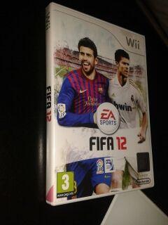 juego Wii fifa12