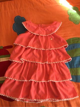 Vestido talla 4 Sanmar