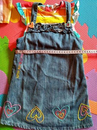 Conjunto vestido 3 años Agatha Ruiz de la Prada