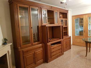 mueble roble para salon