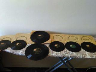 Discos gramola, gramófono.