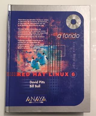 """Libro """"Red Hat Linux 6"""""""