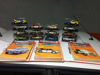 Coleccion Scalextric Rallyes