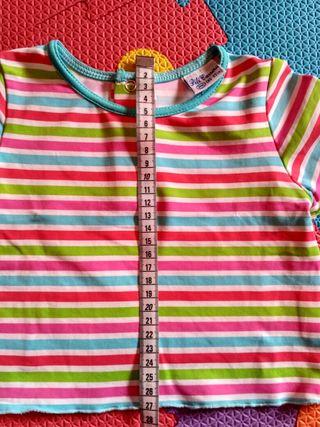 Camiseta niña Talla 24 m. Pili Carrera