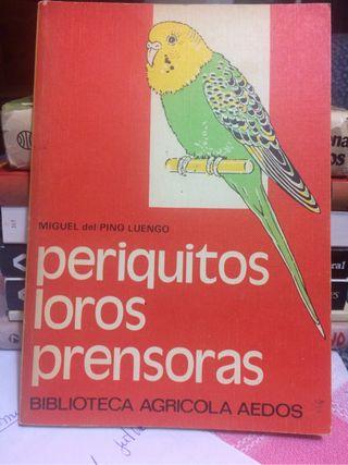 Libro periquitos y loros