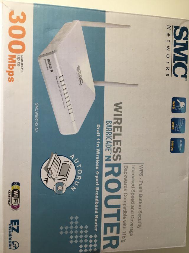 Router wifi SMC 300mbps Nuevo