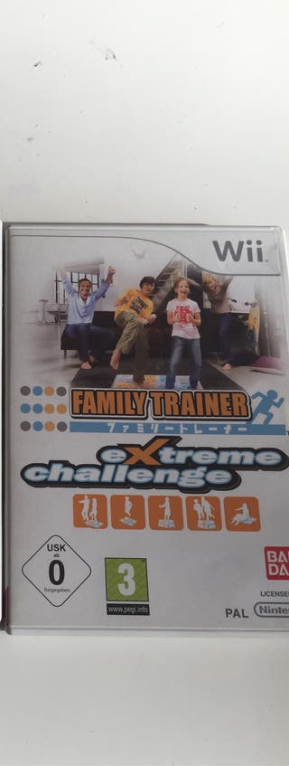 Wii extreme challeng