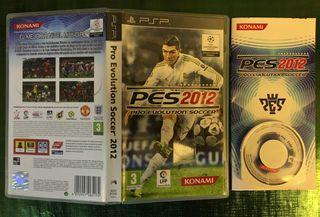 Pes 2012: Pro Evolution Soccer PSP Completo!!