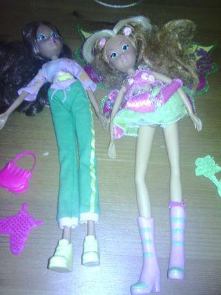 Muñecas winx y complementos