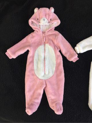 Disfraz - mono osito 0-3 meses