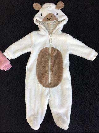 Disfraz - mono oveja 0-3 meses