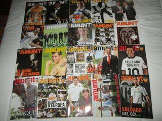 Lote de revistas AMUNT del Valencia CF