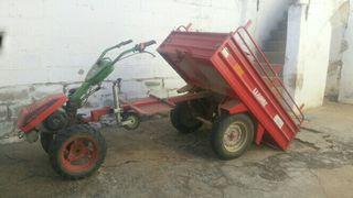 Carro basculante mula mecanica