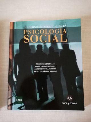 Libro y 2 cuadernos de Psicología Social