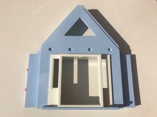 Pieza fachada playmobil