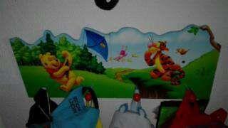 Perchero de pared winnie the pooh