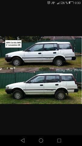 Toyota Corolla 4wd 1988