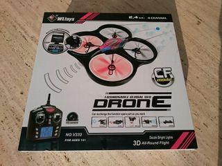 Drone Cyclone con cámara en tiempo real