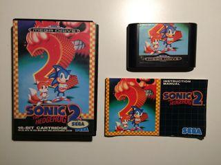 Juego Sonic 2 sega megadrive