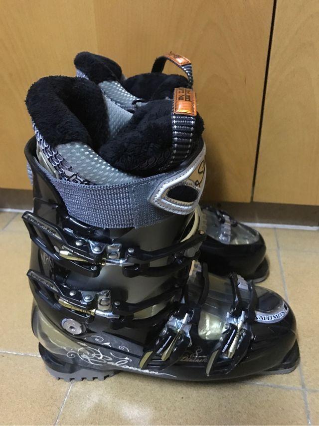 Bota Ski Mujer Salomon