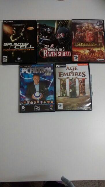 Lote de juegos para PC