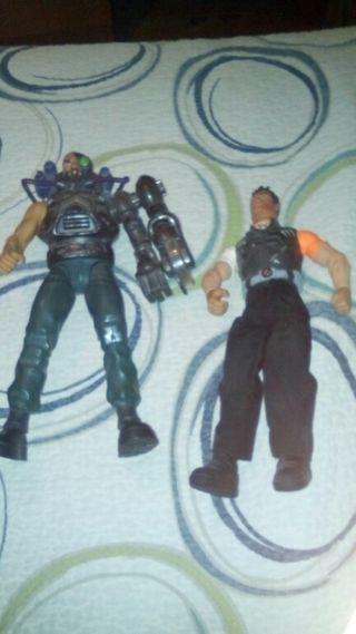 action man y doctor x. Sierra