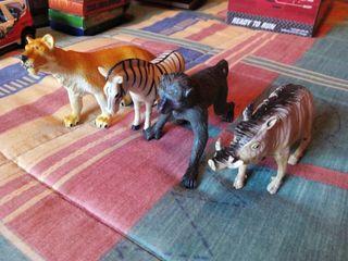 Muñecos animales juguetes