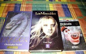 Libros Eragon Los Miserables Dracula