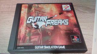 Guitar Freaks Sony PlayStation PSX PS1 PSOne