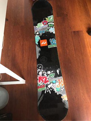Tabla snowboard k2 illusion 159 wide