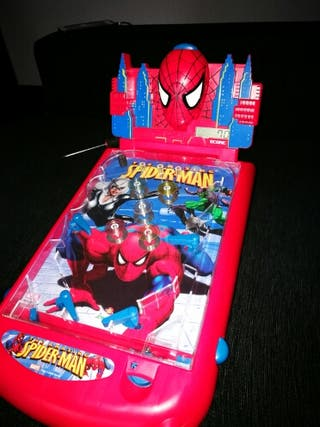 Pinball spiderman