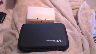 Nintendo 3ds+funda+juego