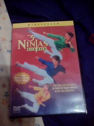 DVD 3 Ninjas Kick Back