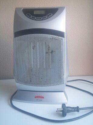 Calefactor eléctrico giratorio