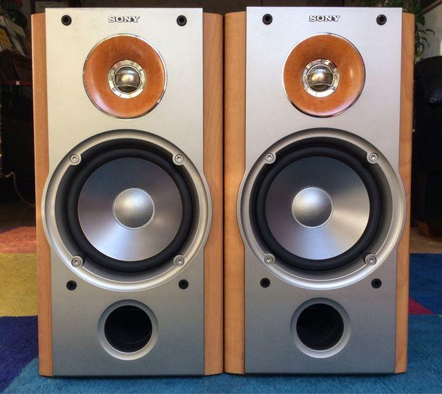 Altavoces SONY - 2x120 w rms Alta Gama