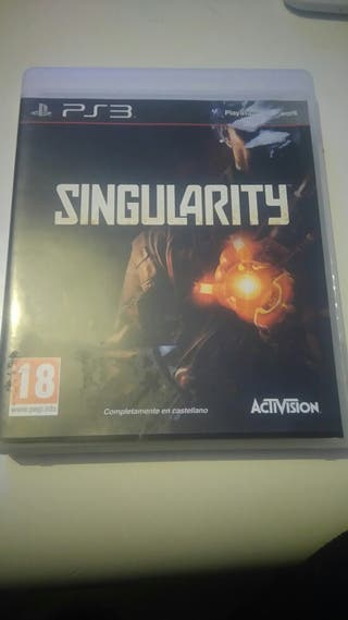 Juego ps3 Singularity