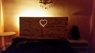 Cabecero cama hecho a mano