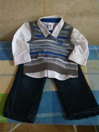 traje para niño