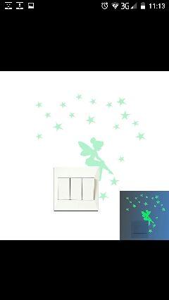 pegatinas fluorescentes