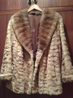 chaqueta vison