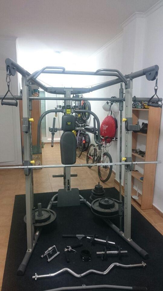 Gimnasio Weider Smith Machine C700